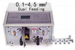 Double feeding wires stripping machine WPM-09F